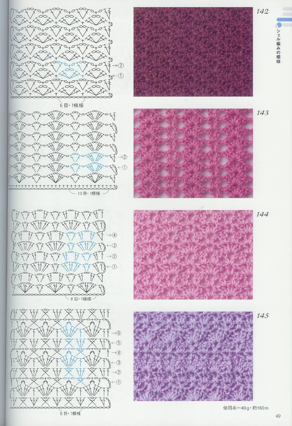Креативные узоры для вязания крючком
