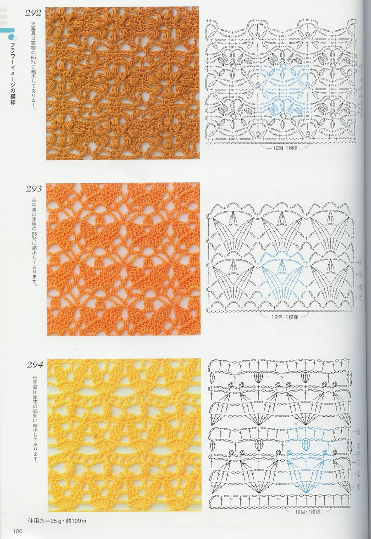 Ажурный рисунок для вязания схемы фото